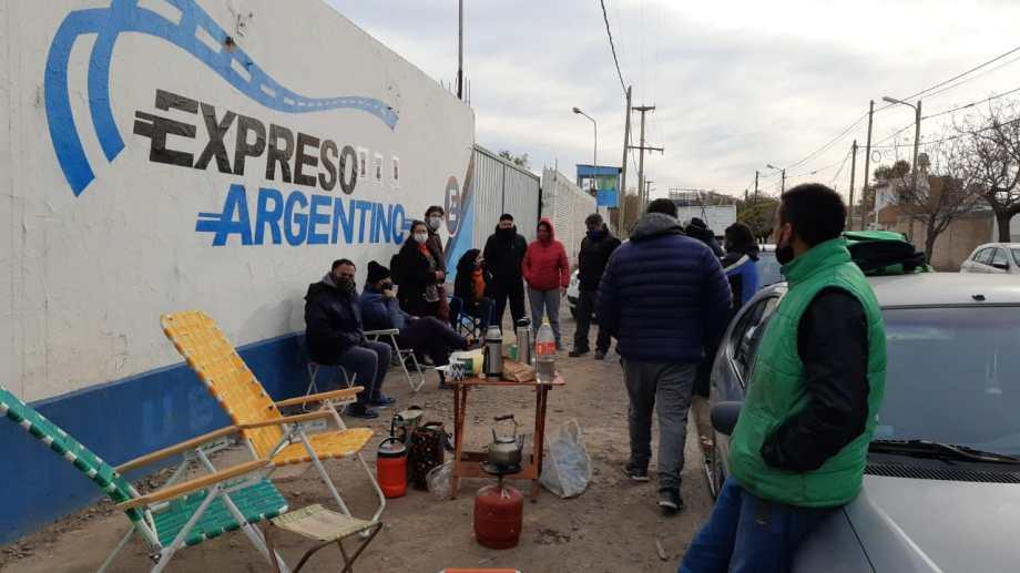 En abril doce trabajadores fueron notificados que estaban suspendidos.  Foto: gentileza