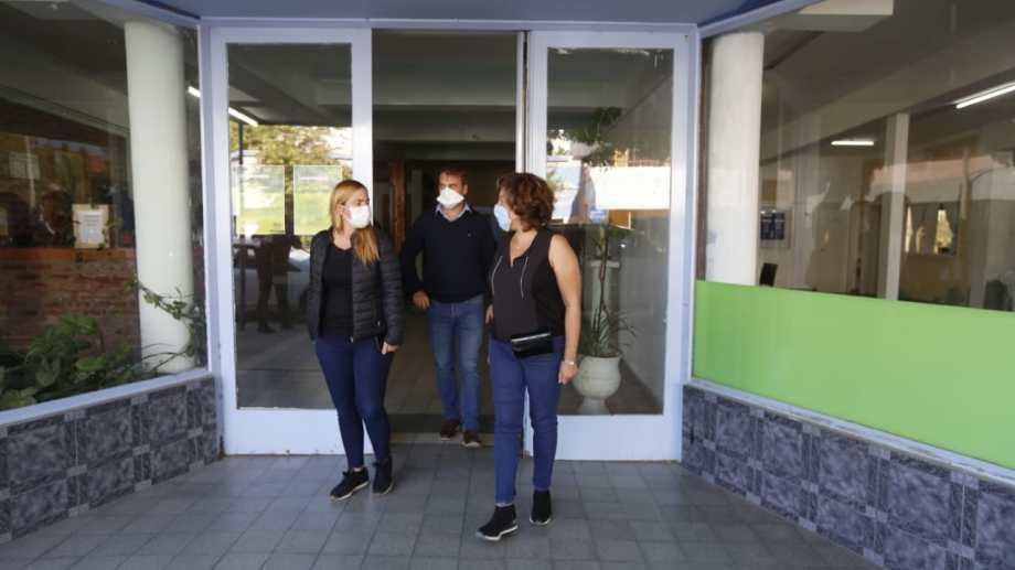 En abril, la gobernadora Arabela Carreras y la intendenta María Emlia Soria mantuvieron una reunión en la Regional II, que tiene su sede en calle Córdoba y Tucumán. (foto:archivo)