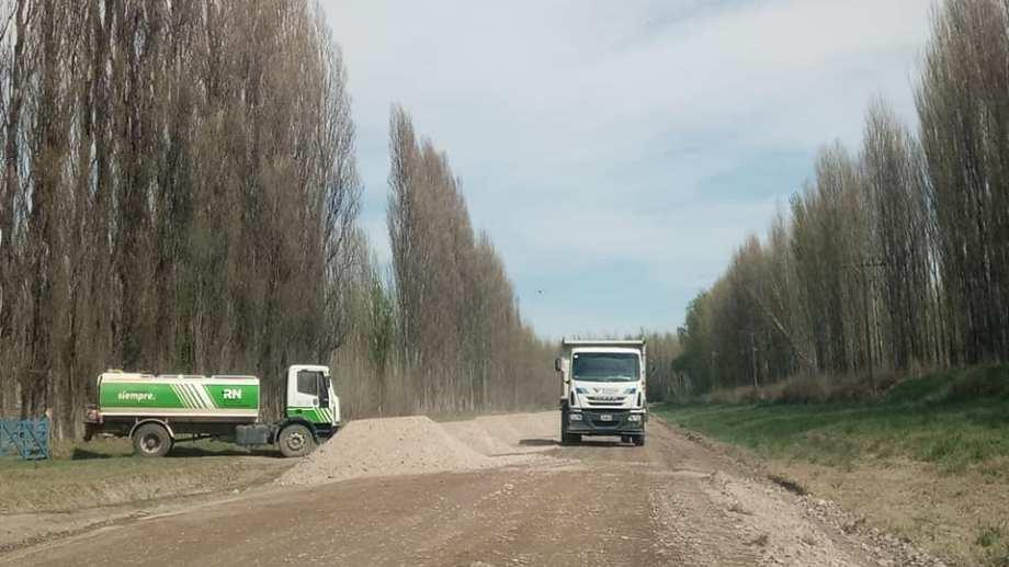 En diciembre fue la última vez que se reacondicionó la ruta 7 hacia Valle Azul. (Foto archivo)