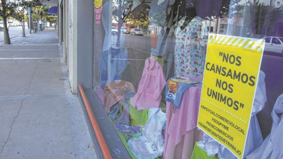 """Los comerciantes iniciaron una campaña hace ya varias semanas bajo el lema """"Nos cansamos, nos unimos"""". Hoy, se movilizarán. (foto:archivo)"""
