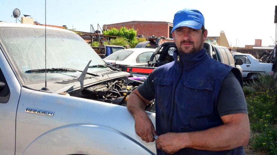 Teramo fue contratado para realizar el viaje hacia la ciudad petrolera. Foto: Marcelo Ochoa