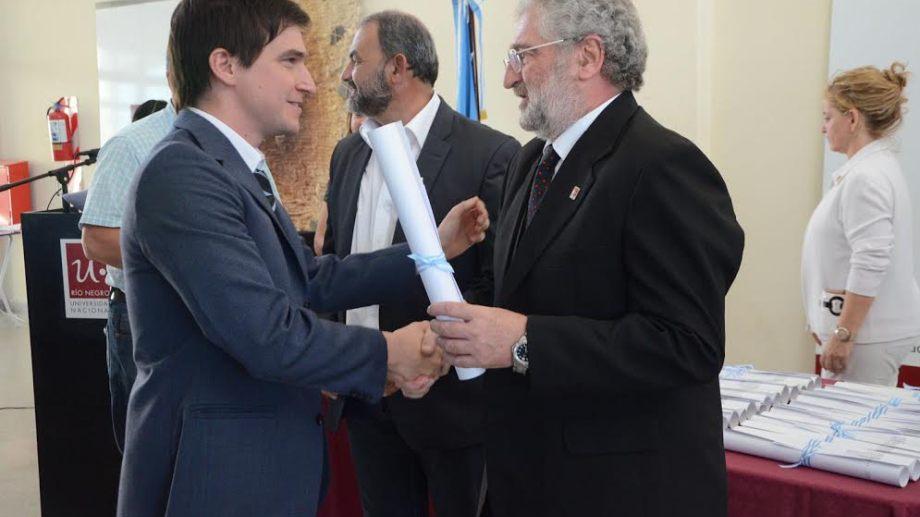 Del Bello destacó el reconocimiento para la UNRN. Foto: archivo.