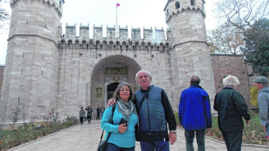 El Palacio de Topkapi en Estambul, centro de poder de los sultanes otomanos.