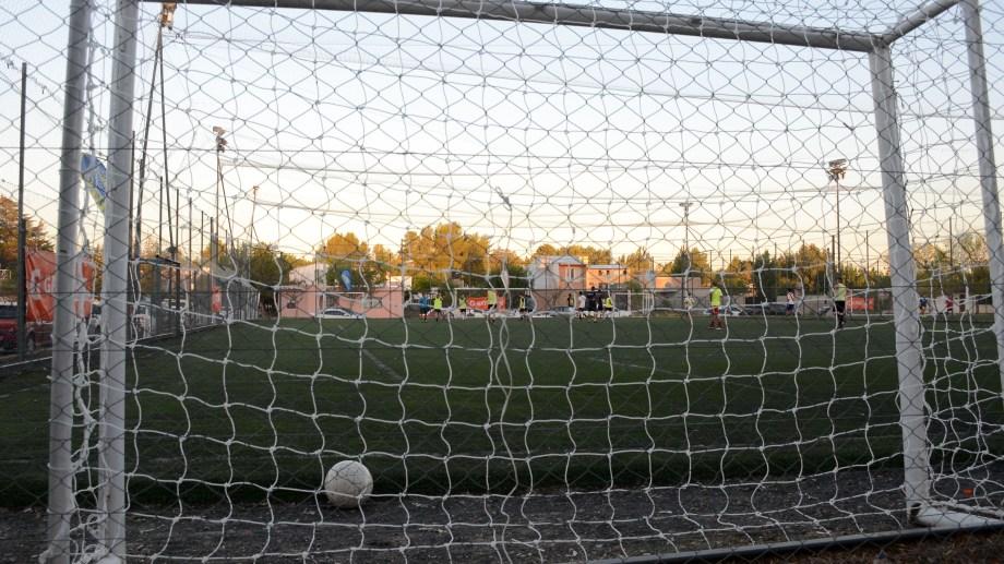 El fútbol no fue habilitado. Foto: Mauro Pérez
