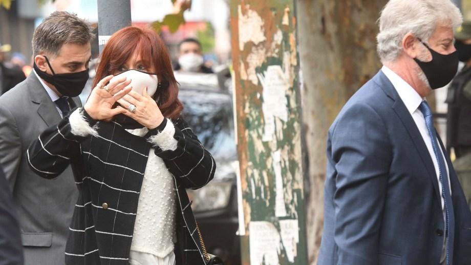 La vicepresidenta Cristina Fernández, una de las principales interesadas en la reforma. Foto: Archivo.