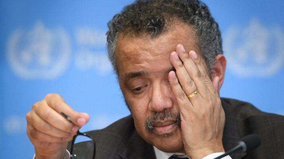 Tedros Adhanom Ghebreyesus habló en conferencia de prensa y manifestó las preocupaciones. Foto: archivo.-