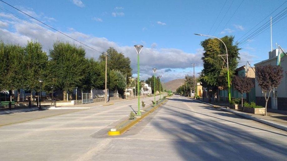 Desde hoy rige el Aislamiento Social Preventivo y Obligatorio en Comallo. (Foto: Gentileza)