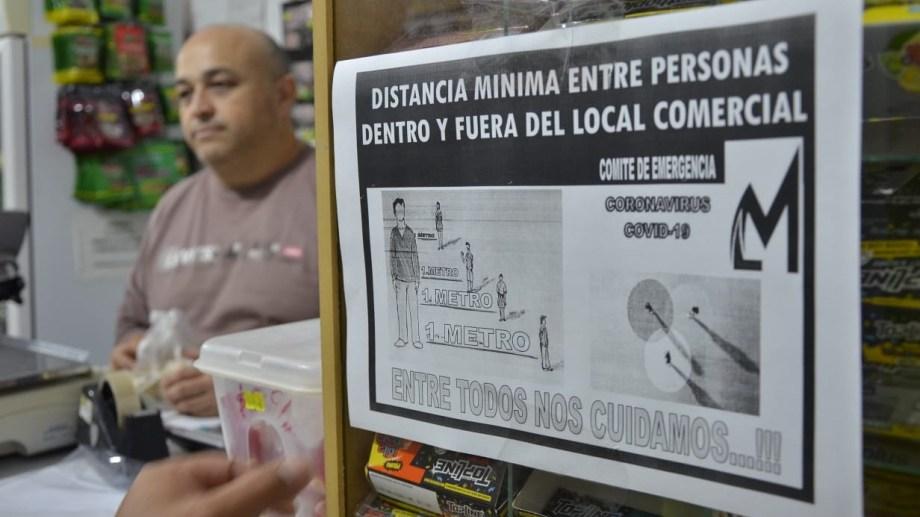 Ante el primer caso positivo de COVID, se extremaron las medidas preventivas en la comunidad. (Foto: gentileza).