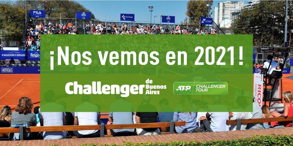 El Challenger de tenis de Buenos Aires pasó al 2021