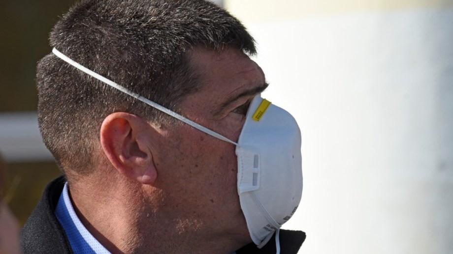 El intendente de Cipolletti conforme con la situación epidemiológica de la ciudad. (foto: Florencia Salto)