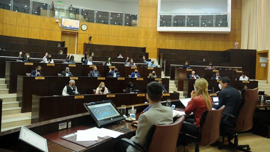 Hasta ahora, sólo los diputados del interior participaban de manera virtual. Foto: gentileza.
