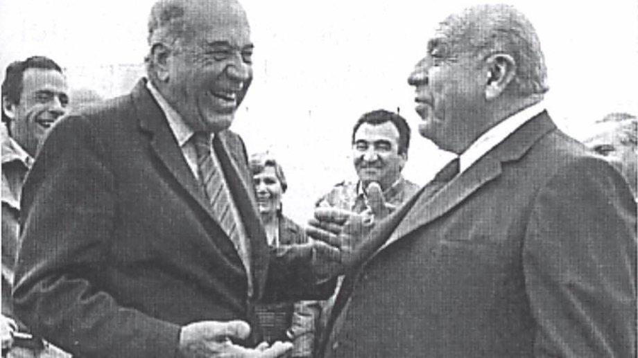 Felipe y Elías Sapag fueron los artífices del MPN. Foto Gloria Sifuentes