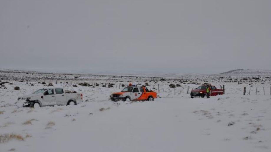 Las salidas  se realizan con varios vehículos. (José Mellado)