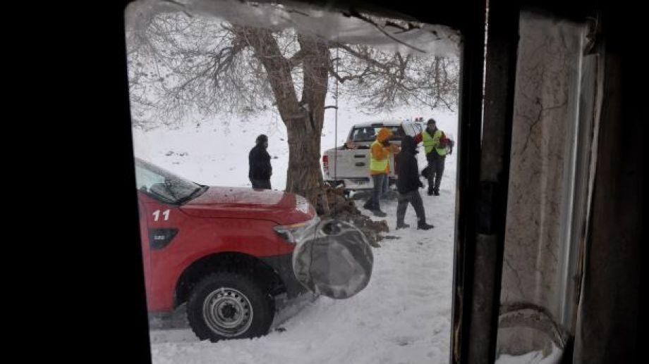 La nieve y la humedad castigan con gran rigor en la Región Sur. (Foto: José Mellado)