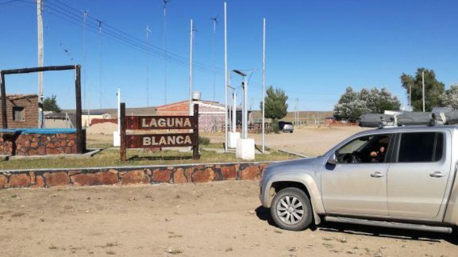 Laguna Blanca es un paraje ubicado a unos 67 kilómetros al norte de Comallo. (Foto: José Mellado)
