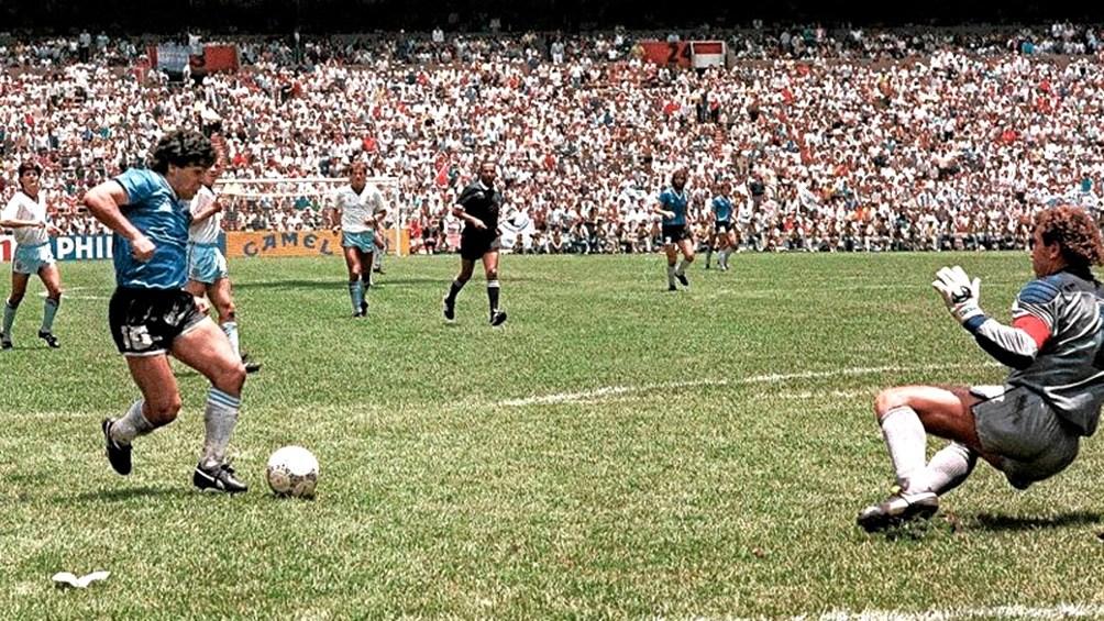 Maradona Recordo Su Mitico Partido Contra Inglaterra En El 34 Aniversario