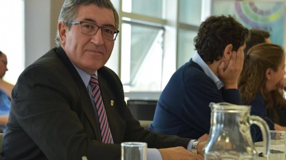 Marinao presentó el proyecto en la legislatura rionegrina. Foto: gentileza.