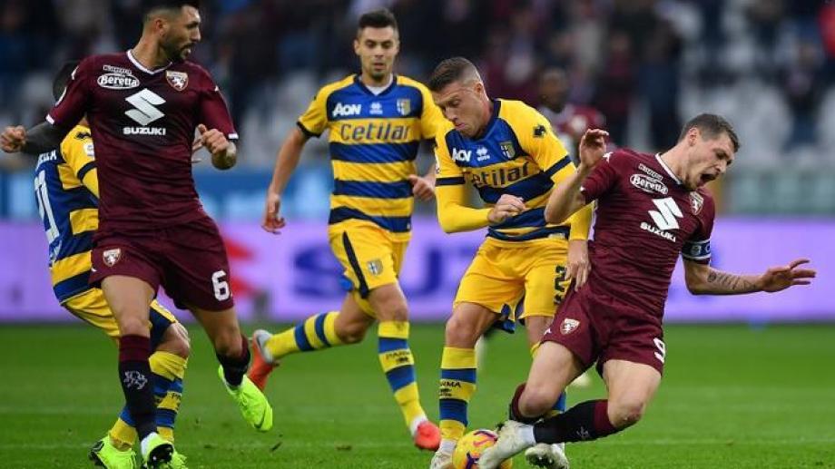 Torino recibirá a Parma en el primer encuentro de la Serie A, luego de la suspensión.