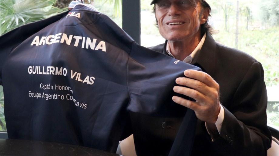 Guillermo Vilas recibió dos distinciones por parte de la AAT.