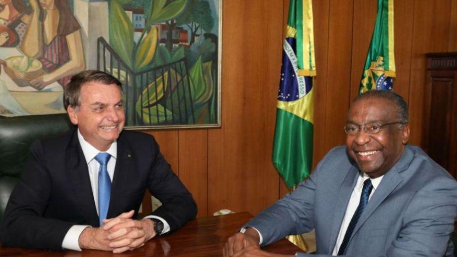 Carlos Decotelli era el primer funcionario negro en la gestión de Bolsonaro.-