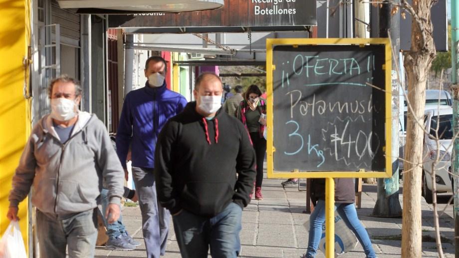 Neuquén es una de las provincias que pasaron a la nueva fase, ya no de aislamiento, sino de distanciamiento social. (Archivo Oscar Livera).-