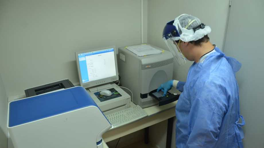 Los laboratorios habilitados procesan las muestras con la técnica de PCR. Foto: archivo.