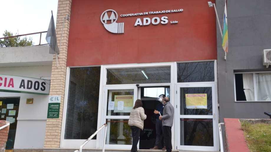 El policlínico ADOS fue cerrado. Algunos pacientes internados permanecen y otros fueron derivados (Yamil Regules).-