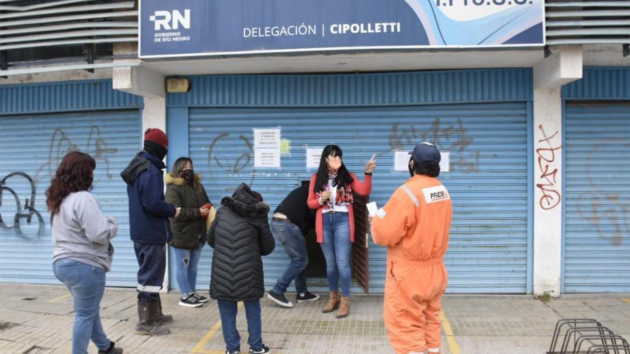 Tras cumplir la cuarentena, vuelven a abrir el Ipross en Cipolletti (Foto: Florencia Salto)