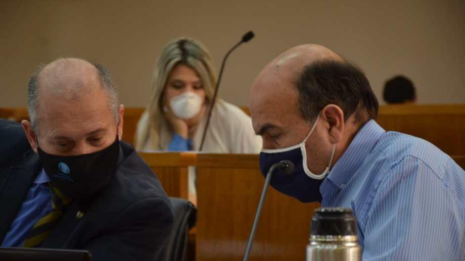 Marcelo Bermúdez y Mario Lara (JPC) (Foto Yamil Regules