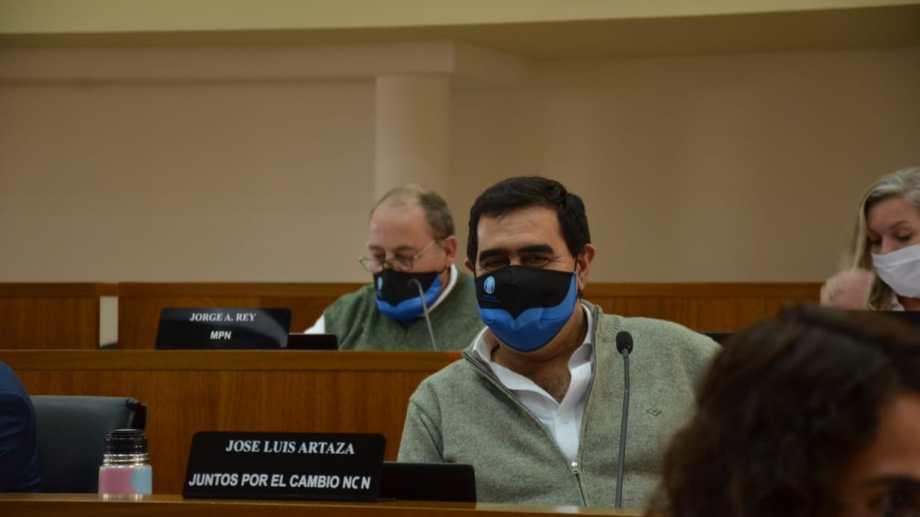 José Luis Artaza concejal Juntos por el Cambio- Ncn (foto Yamil Regules)