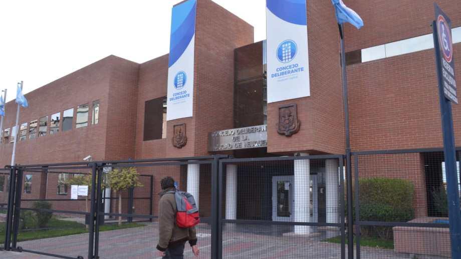 El Concejo Deliberante de Neuquén suspendió sus actividades por hoy. (foto archivo Yamil Regules)