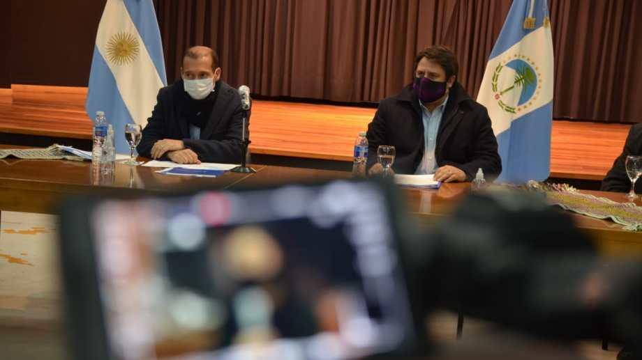 El gobernador Omar Gutiérrez puede disponer excepciones a la cuarentena estricta. Foto: archivo Yamil Regules.