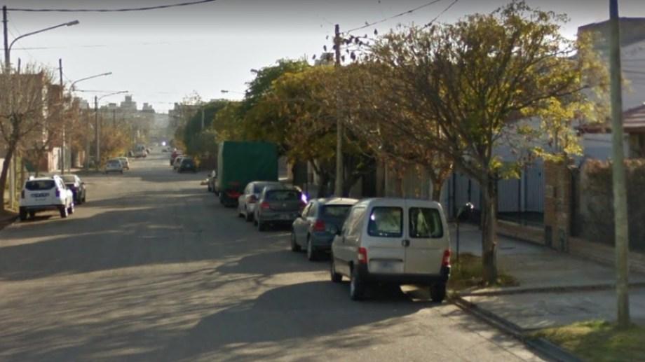 El hecho ocurrió en el barrio Villa María de Neuquén. (Foto: Captura Google Mpas.-)