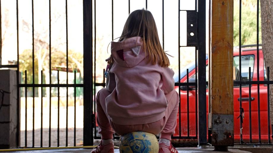 Los niños mayores de 10 años desde ahora pueden ir a los gimnasios en Bariloche. Foto archivo Florencia Salto