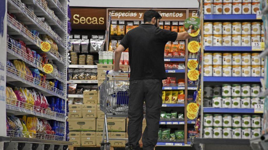 Supermercados de Neuquén. Foto: Florencia Salto