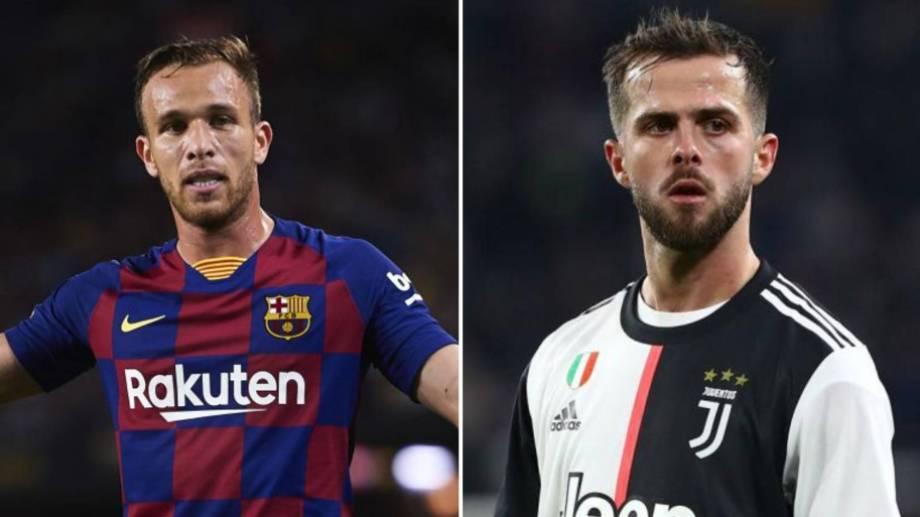 El brasilero pasará a Juventus y el bosnio a Barcelona a partir de la próxima temporada.