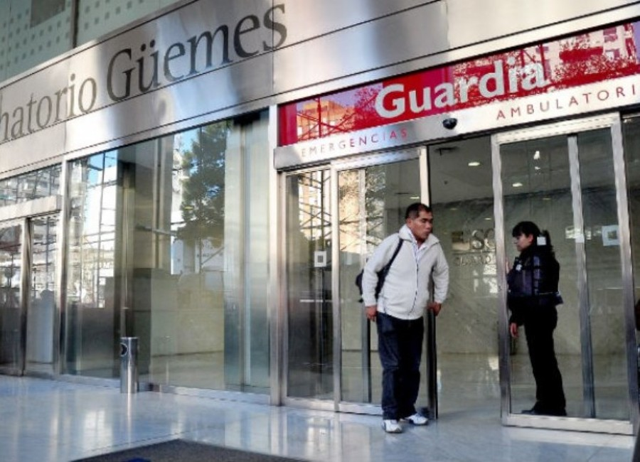 Treinta y seis empleados del sanatorio Güemes dieron positivo por coronavirus