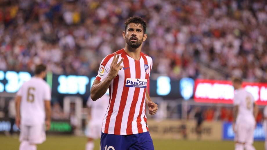 Diego Costa cerró la cuenta para el equipo colchonero, de penal.