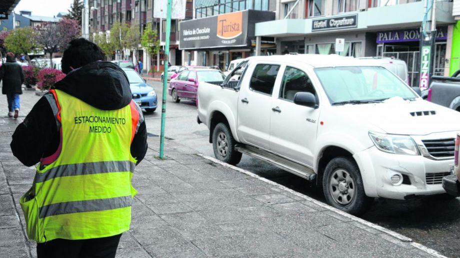 Este miércoles vuelve a funcionar el estacionamiento medido. Foto: archivo