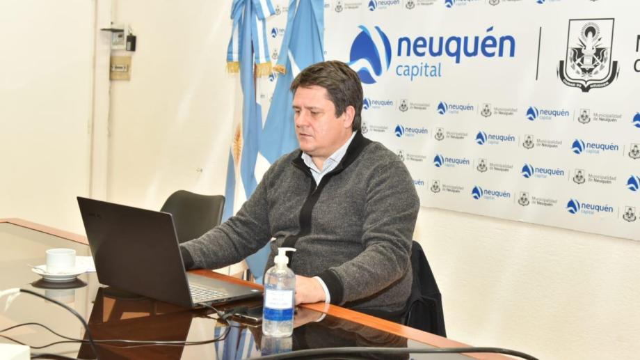 El intendente Mariano Gaido recibió apoyo para llevar adelante el Plan Capital. (foto: Gentileza)