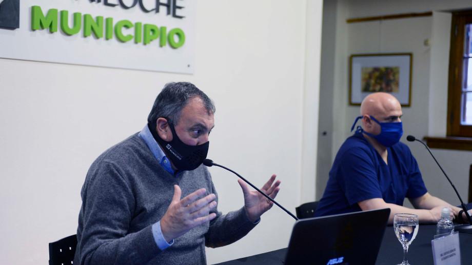 El intendente Gustavo Gennuso pidió un anticipo de coparticipación para pagar los aguinaldos en diciembre. Archivo