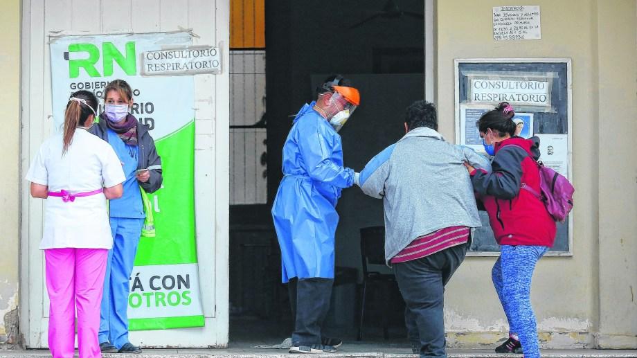 Roca es hoy la ciudad con mayor cantidad de casos activos de la región. Foto: Juan Thomes