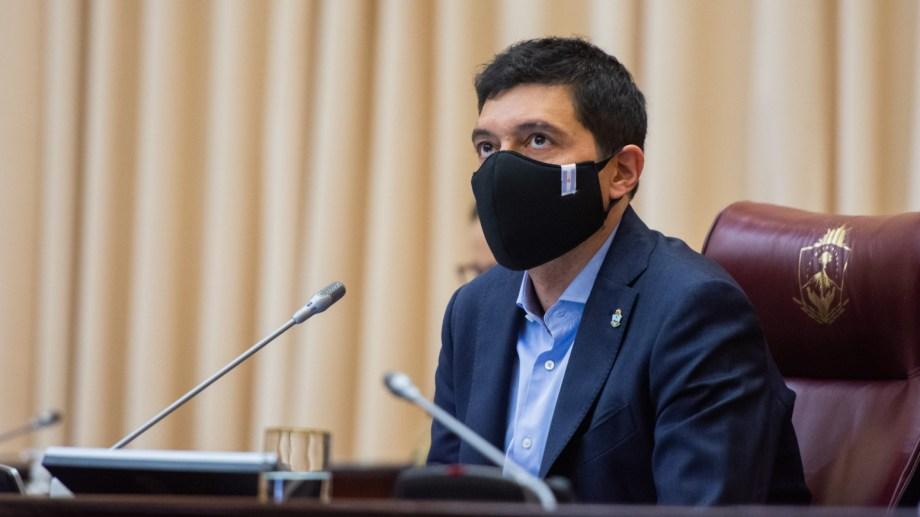 El vicegobernador Marcos Koopmann suspenderá el receso de invierno en la Cámara. Foto: gentileza.