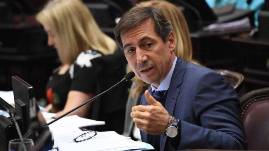 Luis Naidenoff, jefe de la bancada opositora, dijo que hay mucha hostilidad en el Senado.