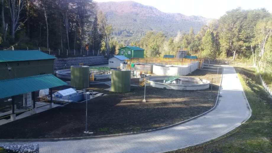 Las instalaciones servirán para tratar efluentes de la población estable y los turistas. (Gentileza)