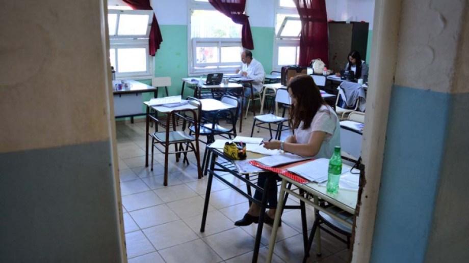 Las aulas volverán a recibir alumnos en la primavera. Archivo