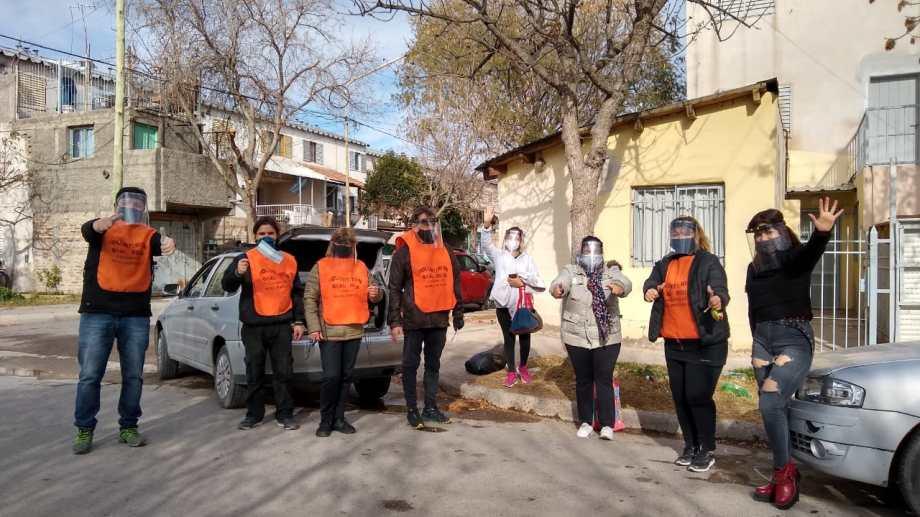 Los voluntarios se preparan para colaborar con los sectores más necesitados. (foto: gentileza)