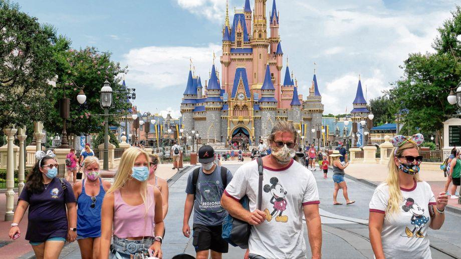 A pesar de estar en el Estado más afectado, Disney reabrió algunos parques el fin de semana. (Foto: AP)