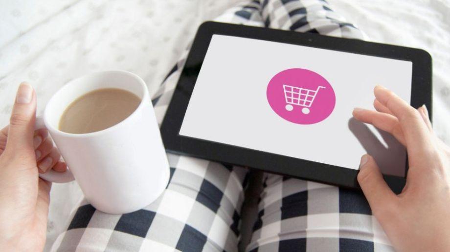 Las compras por internet se dispararon en el país, en medio del aislamiento social.-