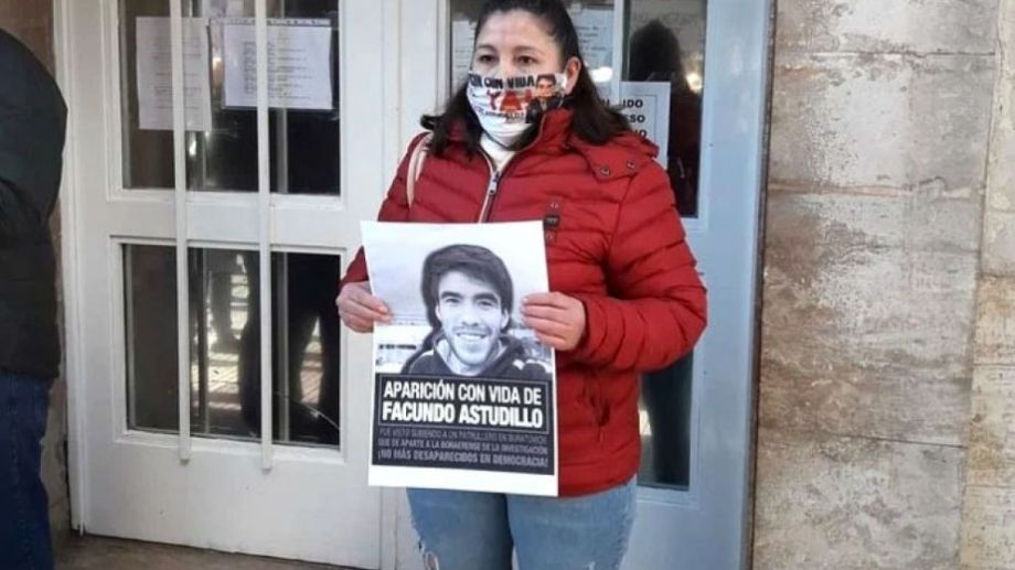 Alberto Fernández recibe a la madre de Facundo Astudillo Castro